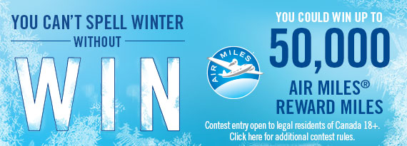 Winter AIR MILES Contest